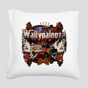 Wallypalooza3day_front Square Canvas Pillow