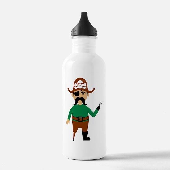 pirate_man Water Bottle
