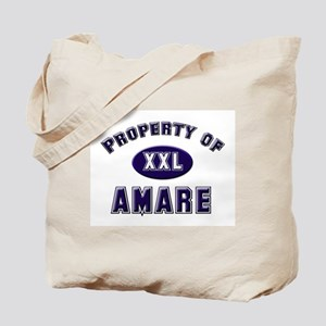 Property of amare Tote Bag