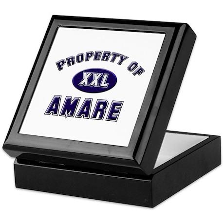 Property of amare Keepsake Box