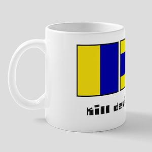 kill devil hills nc nautical-page1 Mug