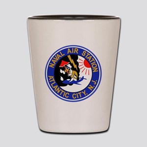 US NAVAL AIR STATION ATLANTIC CITY New  Shot Glass