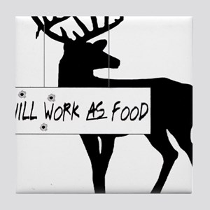 willworkasfood Tile Coaster