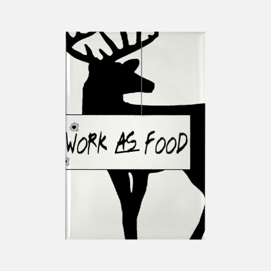 willworkasfood Rectangle Magnet