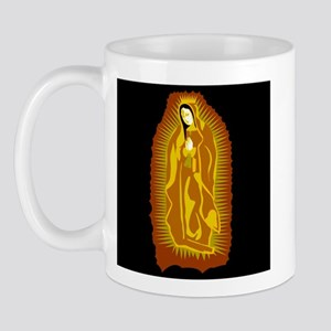 Our Lady of Guadalupe - Gold Mug