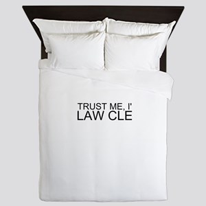 Trust Me, I'm A Law Clerk Queen Duvet