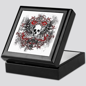 Skullz Wings Keepsake Box