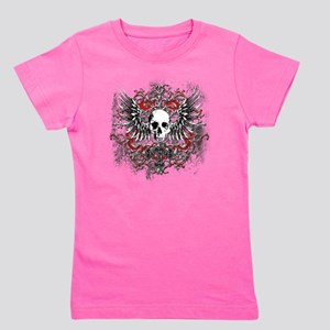 Skullz Wings Girl's Tee