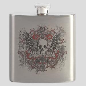 Skullz Wings Flask