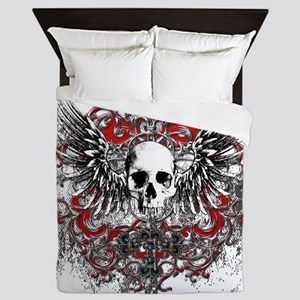 Skullz Wings Queen Duvet