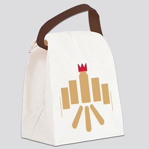 kubb Canvas Lunch Bag