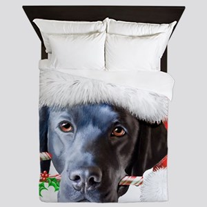 Black Lab - Cody Queen Duvet