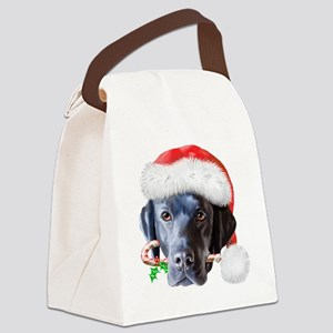 Black Lab - Cody Canvas Lunch Bag