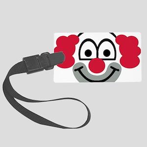 clown Large Luggage Tag