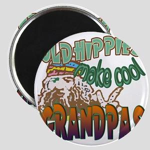 OLD HIPPIES MAKE COOL GRANDPAS Magnet
