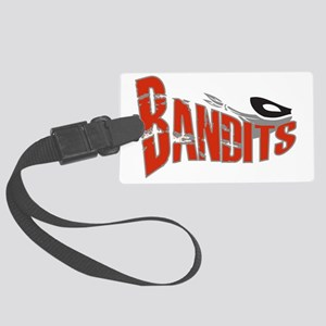 Sioux City Bandits Large Luggage Tag