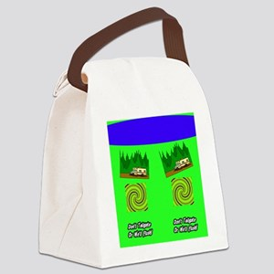 tailgateflush1 Canvas Lunch Bag