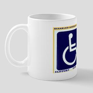 Disabled American Veteran Mug