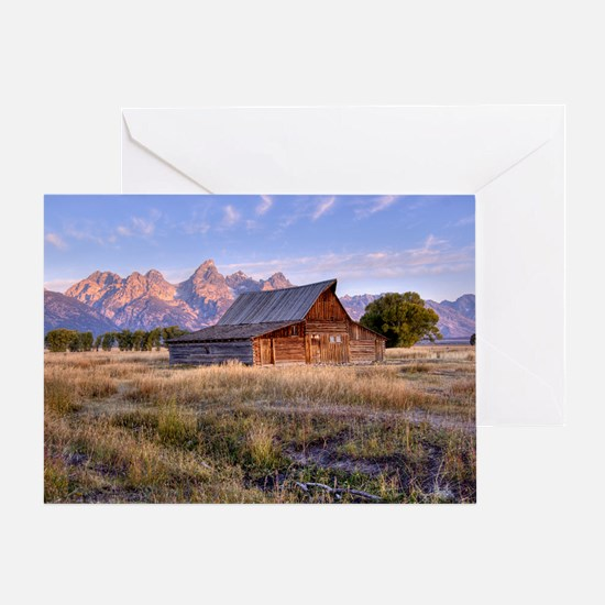 Moulton Barn - LFP Greeting Card