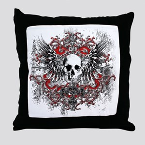 new Skull project August 2011 2 Throw Pillow
