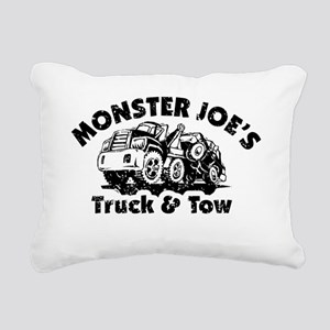 Monster Joes Truck  Tow Rectangular Canvas Pillow