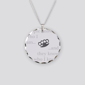 PeopleKnow Necklace Circle Charm