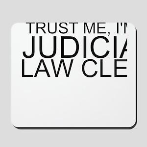 Trust Me, I'm A Judicial Law Clerk Mousepad