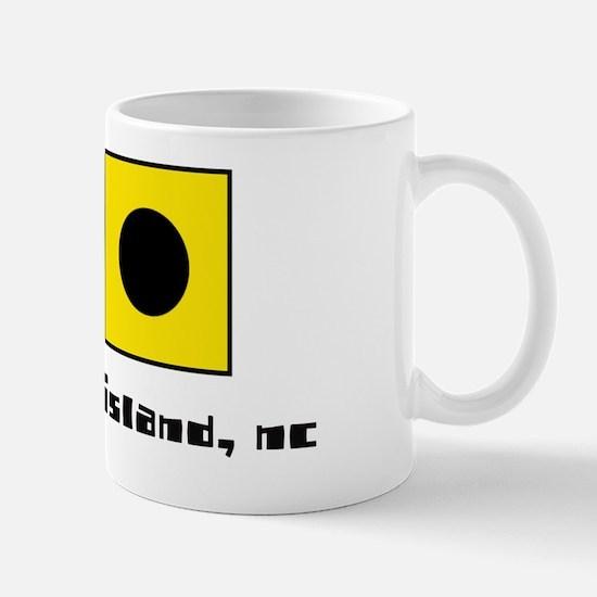 ocracoke island nc nautical-page1 Mug