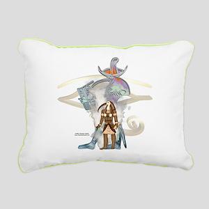 Thoth Whisps Rectangular Canvas Pillow