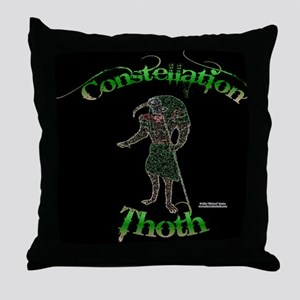 Constellation Thoth Throw Pillow