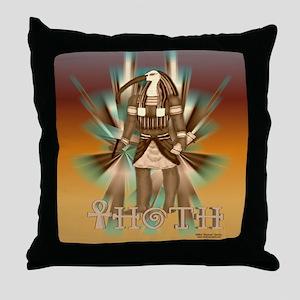 Thoth Sepia Throw Pillow