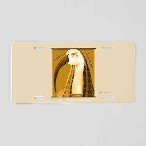 Thoth Papyrus Aluminum License Plate
