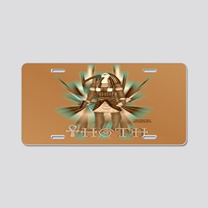 Thoth Sepia License Plate