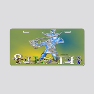 Thoth 3D License Plate