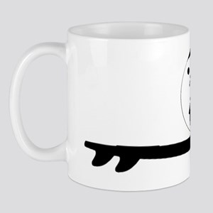 Yin Yang Surfing Mug