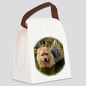 Norwich Terrier 9Y235D-087 Canvas Lunch Bag