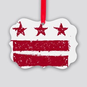 DCFLAG2 Picture Ornament