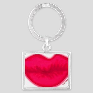 lipshotpink Landscape Keychain