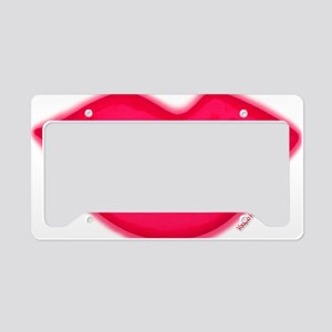 lipshotpink License Plate Holder