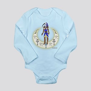 Thoth Moon Glow Long Sleeve Infant Bodysuit