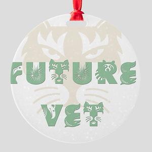 FutureVet Round Ornament