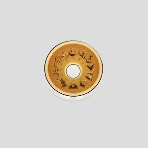 12 Spirit guardian animals Mini Button