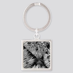 fractured beauty Square Keychain
