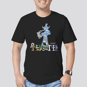 Thoth 3D Men's Fitted T-Shirt (dark)