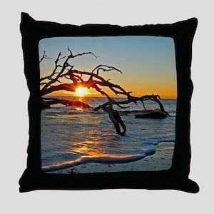 driftwoodsun Throw Pillow