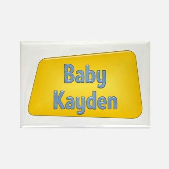 Baby Kayden Rectangle Magnet