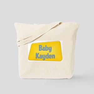 Baby Kayden Tote Bag