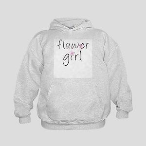 Sweet Flower Girl Kids Hoodie