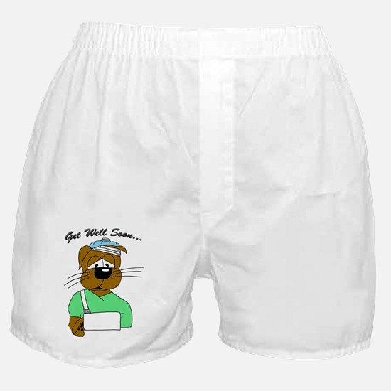 Get-Well-Front Boxer Shorts