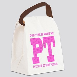 PT_Pink_new Canvas Lunch Bag